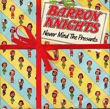 """THE BARRON KNIGHTS never mind the presents 3 track ep EPC 9070 epic 7"""" PS EX/EX"""