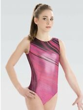Gk Elite Under Armour Fuse Ambition Leotard Sz Adult Small As 6323 Pink Nwt New