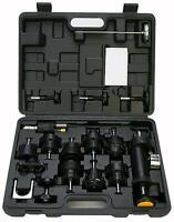 18Pcs Radiator Pump Pressure Cooling System Tester Leak Detector Cap Tool Kit LM