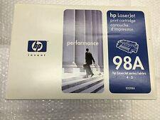 Toner HP 92298A 98A HP LaserJet 4 LaserJet 5 Nero NUOVO ORIGINALE SIGILLATO @