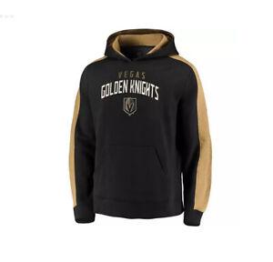 NHL LAS VEGAS GOLDEN KNIGHTS FANATICS GAMEDAY ADULT M FLEECE HOODIE BNWT $55