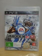Madden NFL 13  PS3 Game...   FREE POST AU
