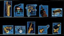Japan 2019 Musical Instruments 84Y Complete Used Set of 10