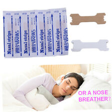 50pcs Great Breathing Nasal Strips Stop Snoring Anti Snoring Strips Patch AAqw