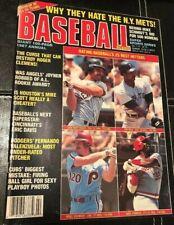 1987 Annual Baseball Scene Magazine Mike Schmidt Roger Clemens Keith Hernandez +