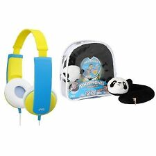 JVC Kids Tinyphones Headphones Neck Pillow Backpack Stickers Travel Gift Set