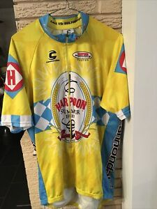 Cannondale Harpoon Summer Beer Bike Cycle Jersey XL Rare Find