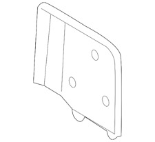 Genuine Ford Cover 2C5Z-17D742-AAA