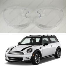 MINI Countryman R60 (10-16) OEM Headlight Glass Headlamp Lens Cover (PAIR)