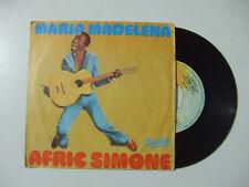 "Afric Simone – Maria Madelena - Disco Vinile 45 Giri 7"" Stampa  ITALIA 1977"