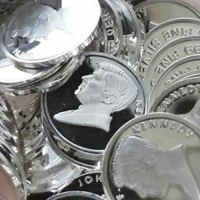 1 gram .999 Solid Silver Bullion Mini Art-Round, New - (JFK) - JOHN F. KENNEDY