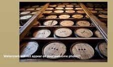 Bourbon Whiskey Barrels PHOTO Art Print Aging Rickhouse Liquor Distillery Barrel