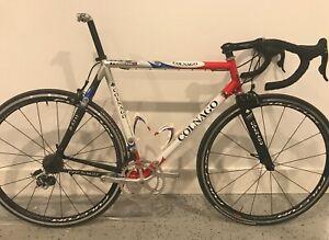 bicycle, Retro Collage Titanio, 56cm, Campagnolo 10 speed record groupset