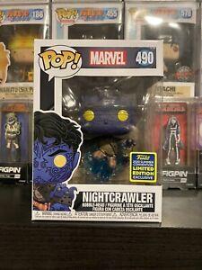 Funko POP! Nightcrawler #490 SDCC 2020 Summer Convention Marvel X-Men Limited