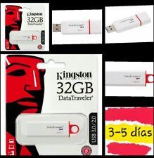 Pendrive  32 GB kingston  3.1 Data Traveler G4