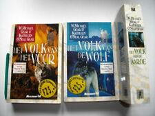 3 x Prehistorie van de Nieuwe Tijd 1+2+3, Volk van de Wolf+Vuur+Aarde roman Gear