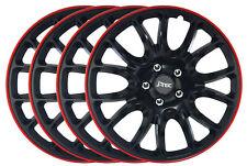 4 Stück Radkappen Radzierblenden 16 für Nissan Tino Juke Pixo Tiida Almera