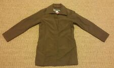 Columbia Sportswear XCO womens long peacoat brown with pink lining size M