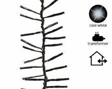 494695 LUMINEO Guirlande lumineuse 768 LEDS LED Froid Noir Blanc pour intérieur