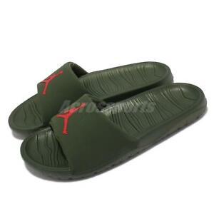 Nike Jordan Break Slide BBS Green Red Men Slip On Sandal Slides DM2952-300
