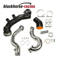 """3"""" Stainless Downpipes+Air Intake Charge Kit FITS BMW N54 E90 E92 135i 335i 335"""