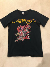 NWOT Mens Ed Hardy T Shirt with Rhinestones Size Medium