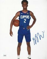 Shai Gilgeous-Alexander Signed 8x10 Photo JSA COA Autograph LA Clippers Thunder