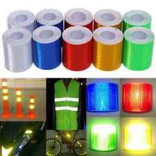 3m/1m x 5cm Reflective Safety Warning Tape Bicycle Sticker Adhesive Caution Tape