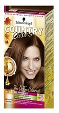 2x Schwarzkopf Country Colors Hair Colourant 65 Chestnut