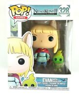 Nino Kuni II Revenant Kingdom Pop Games Evan W/ Higgledy Funko Pop #328 Vinyl
