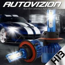 S2 H13 9008 LED Headlight Kit Bulbs 488W 6500K White Light For Ford F250 05-13