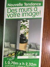 Poster zen peeble meditation photo art for door or yoga studio NIP from France