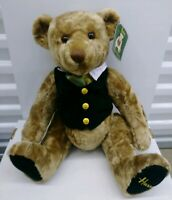 "Harrods Knightsbridge 18"" Rodney Teddy Bear Jointed Tag"