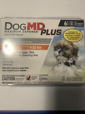 Dog Md Plus Maximum Defense Flea & Tick Topical for Dogs 4-22 lbs 6 Month Suppl
