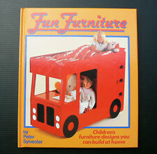 Fun Furniture book building plans childrens kids bunk car truck bed desk caravan