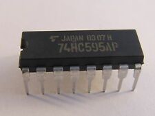 10 Stück 74HC595AP Toshiba 8-Bit Shift Register/Latch - AE23/8078
