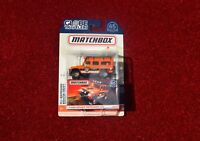 Matchbox Land Rover Defender 110 Orange 65th Anniversary Toy Model Car