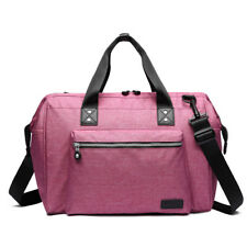 Mummy Maternity Baby Changing Bag Backpack Nappy Diaper Wipe Clean Pink E1802