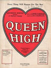 1926 Everything will happen for the best from Queen High by Gensler and DeSylva