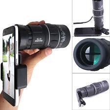 16x52 Zoom Dual Focus Teleskop Kamera Objektiv Linse für Handys iPhone Samsung