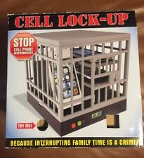 Cell Phone Lock-Up Stop Disturbances & Distractions Talking Fun Gag Party Gift