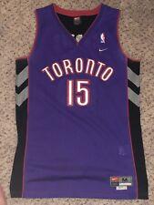 Vintage NIKE Toronto Raptors #15 VINCE CARTER Jersey Size Medium 40 M