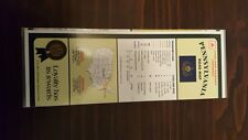 STATE FARM PENNSYLVANIA ROAD MAP RARE LAMINATED COLLECTIBLE 1996