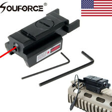 US Mini Low Profile Red Dot Laser Sight With 20mm Picatinny Rail For Pistol Gun