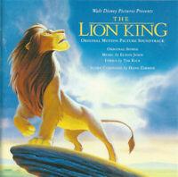 The Lion King / 1994 - Hans Zimmer / Elton John - Mercury - Score  Soundtrack CD