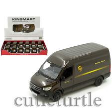 Kinsmart Mercedes Benz Sprinter UPS Van 1:48 Diecast Display Car Brown KT5430D