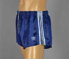 ADIDAS Glanz Nylon Shorts!!!  Vintage Short Sporthose Dunkelblau Gr:L-6  (1088)
