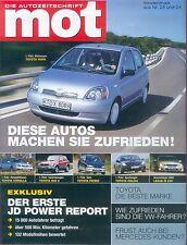 6541T Toyota und Lexus Sonderdruck mot 23/24 2002 deutsche Ausgabe IS200 RAV4 ua