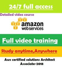 AWS Certified Solutions Architect - Associate FULL video course