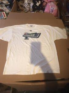 Error Seattle Seahawks Super Bowl XL Champions Shirt NFL Reebok XXL 2005